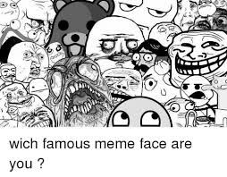 Cartoon Meme Faces - 25 best memes about famous meme faces famous meme faces memes