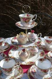 country roses tea set royal albert country roses tea set for 6 with tea cup