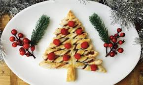 nutella twist christmas tree recipe kidspot