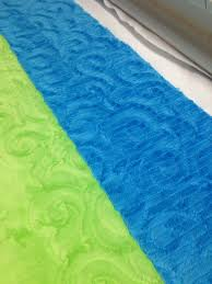 quilting with minky fabric