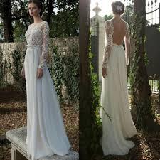 robe de mariã e manche longue dentelle robe longue dos nu dentelle prêt à porter