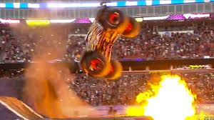 monster truck rally video watch monster truck performs incredible double backflip top gear