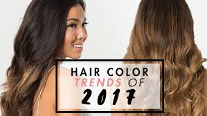 hair color trends top hair color trends of 2017 luxy hair