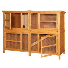 Double Rabbit Hutches Home U0026 Roost U2013 6ft Chartwell Double Luxury Rabbit Hutch