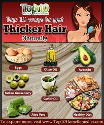 hair for thick hair how to get thicker hair naturally top 10 home remedies