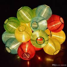 cheap christmas lights outdoor led string light lantern shape