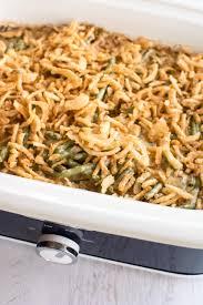 thanksgiving bean casserole slow cooker fresh green bean casserole slow cooker gourmet