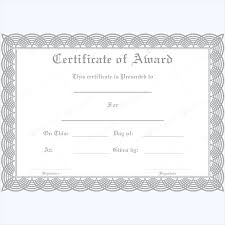 free funny award certificates templates editable award of