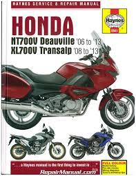 honda 2006 2013 nt700v deauville u0026 2008 2013 xl700 transalp