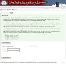 federal service help desk how to successfully complete a batch upload for grants sub award