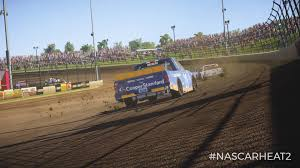 rallycross truck nascar camping world truck and xfinity series dirt coming to