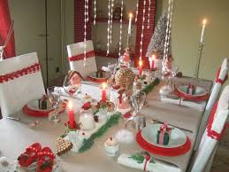 decoration tables de noel