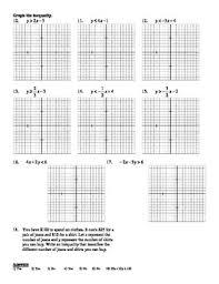 algebra 6 6 solving linear inequalities worksheet doc u0026 pdf