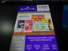 greeting card software hallmark greeting card software ebay