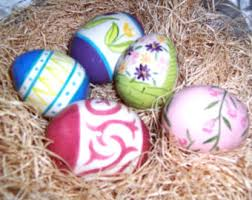 ceramic easter eggs ceramic easter eggs etsy