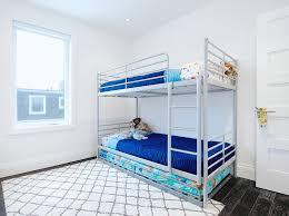 Ikea Bunk Beds Kids Ikea Svrta Loft Bed Frame With Desk Top Vre - Ikea triple bunk bed