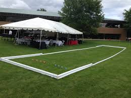 exterior ideas bocce ball court bocce court construction indiana