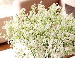 bulk baby s breath popular free shipping 30pcs lot quality artificial wedding
