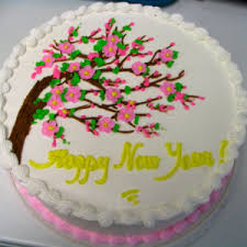 Cake Decoration Ideas For New Year by Yummy New Year Cake Designs 2014 Festivals Mom Bharat Moms