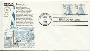 national loon 1964 yearbook postal history corner boating