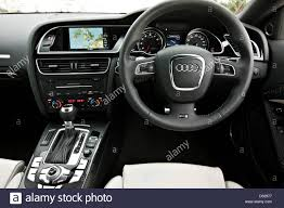 audi dashboard dashboard and steering wheel in the audi rs5 winchester england