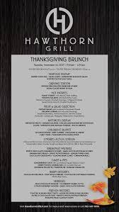 thanksgiving brunch hawthorn grill restaurant summerlin las