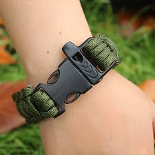 survival bracelet whistle buckle images 1pc outdoor camping paracord parachute cord emergency survival jpg