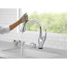 Pull Down Bathroom Faucet by Commercial Touchless Bathroom Faucet Moen 7594esrs Arbor With