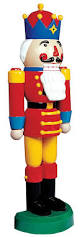 Large Nutcracker Christmas Decorations amazon com large half nutcracker christmas outdoor decoration 55
