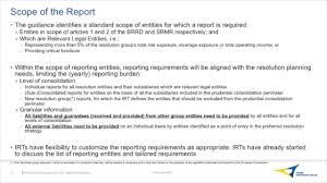 reporting requirement template srb liability data template youtube
