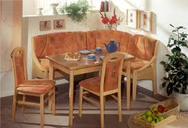 Kitchen Nook Table And Chairs by Corner Breakfast Nook L Shaped Banquette Bench For Corner Of