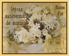 27 ans de mariage invitations anniversaire mariage noces d or 50 ans 2764