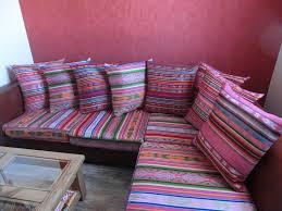 coussin canapé sur mesure coussins de sol luxe charmant grand coussin de sol capitonnã et