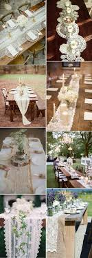 lace table runners wedding rustic wedding lace rustic and vintage wedding table runners