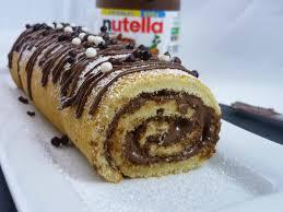 cuisine tunisienne gateau recette de pâtisserie gâteau roulé au nutella de la cuisine