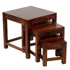 wood nesting coffee table wood nesting tables medium size of coffee nesting coffee table and