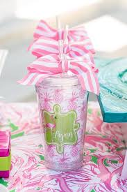 bridal luncheon favors kara s party ideas lilly pulitzer inspired tropical bridal