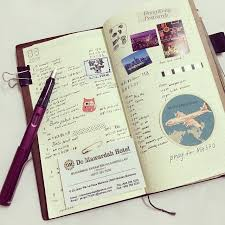 Arizona travel notebook images The journal diaries wen yea 39 s traveler 39 s notebook seaweed kisses jpg