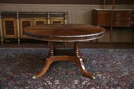 antique round dining table mahogany round dining table with perimeter leaves oval tables