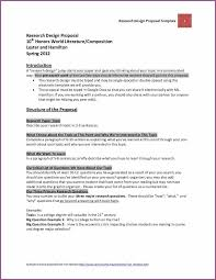 research design examples for research proposal