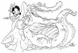 tiger printable princess and tiger online coloring page lily