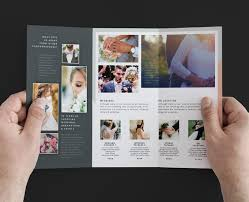 wedding brochure template wedding photography magazine template