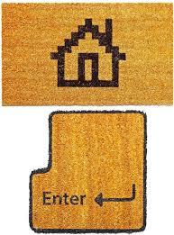 Geek Doormat Geeky Enter And Home Doormats Craziest Gadgets