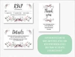 printable wedding invitation printable wedding invitation set floral 3 jasper pud