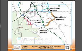 Florida Toll Roads Map by Cfx Selects Four Engineering Firms For Osceola Toll Road Studies