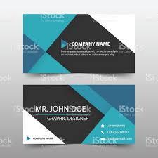Business Email Header by Blue Black Corporate Business Card Header Template Flat Design Set