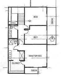 world housing encyclopedia whe example 2 second floor plan