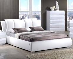 White Leather Bed Frame King Leather Bed Frame Limelight Pulsar White Single Faux Leather Bed