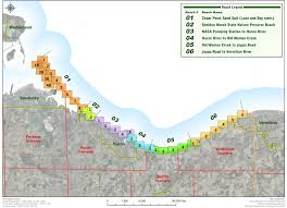 Map Of Sandusky Ohio by Lake Erie Shore Erosion Management Plan