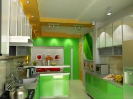 green kitchen cabinet ideas refreshing green kitchen walls with led decor also track lights